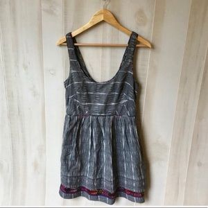 Free People New Romantics Ikat Weather Vane Dress